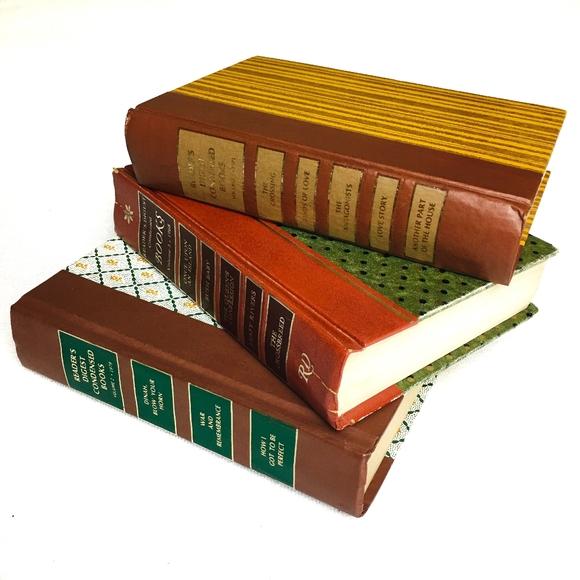 VINTAGE Books Bundle of 3